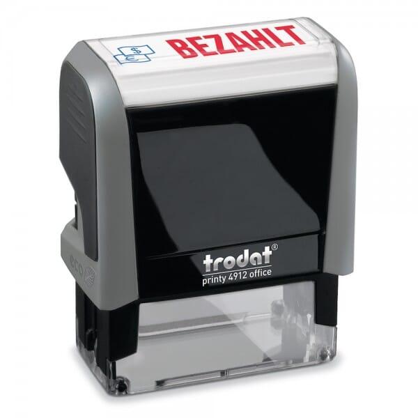 """Trodat Office Printy Textstempel """"Bezahlt"""" 4912 (47x18 mm)"""