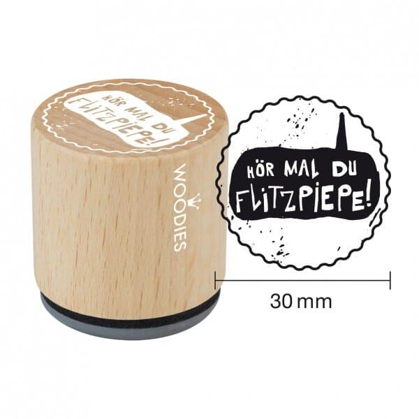 Woodies Stempel - Flitzpiepe W09007