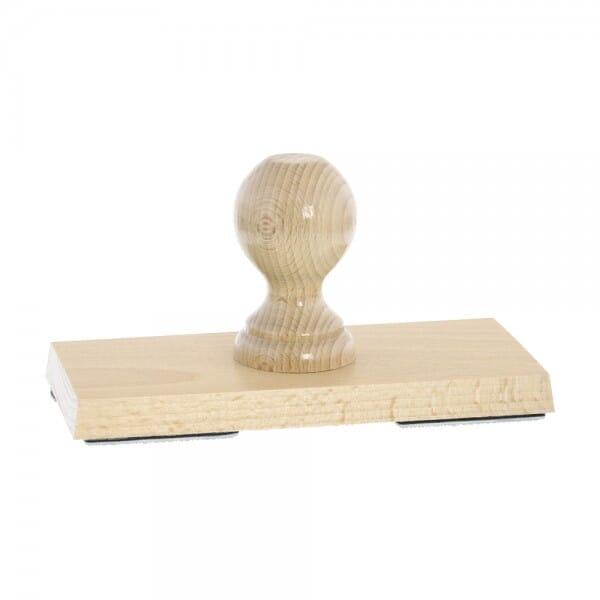 Holzstempel (190x90 mm - 18 Zeilen)
