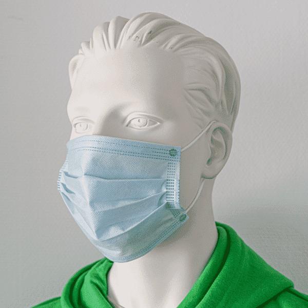 50 Stück Einweg Mund-Nase-Alltagsmaske