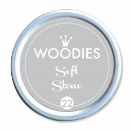 Woodies Stempelkissen - Soft Stone