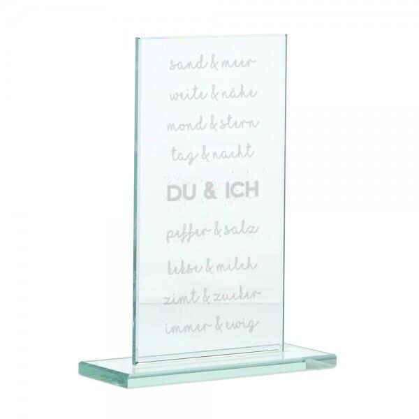 """Glasständer """"Du & Ich"""""""