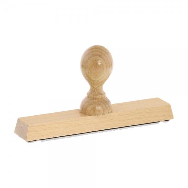 Holzstempel (160x30 mm - 6 Zeilen)