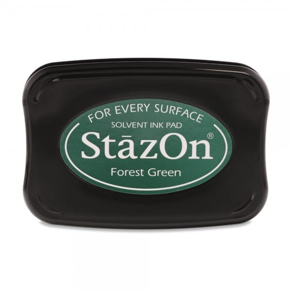 Tsukineko - Forest Green Stazon Stempelkissen (9,9 x 6,7 cm)