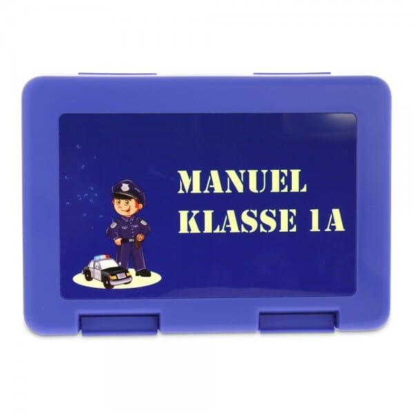 Individuelle Brotzeitbox/Lunchbox aus Kunststoff in verschiedenen Farben