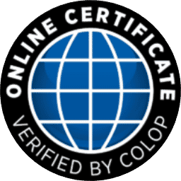 Online Certificate - Verified by Colop