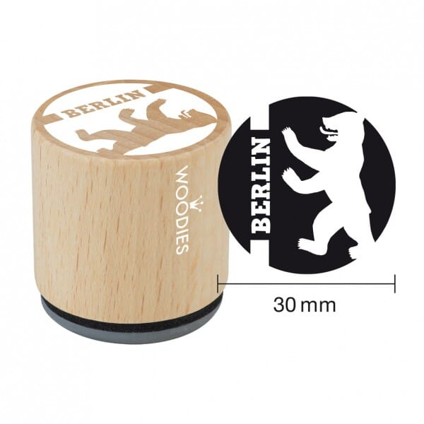 Woodies Stempel - Berliner Bär W09001