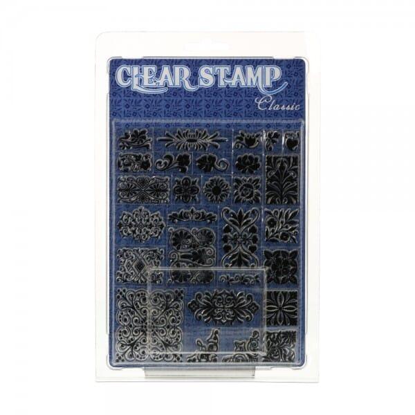Clearstempel - Set Ornamente
