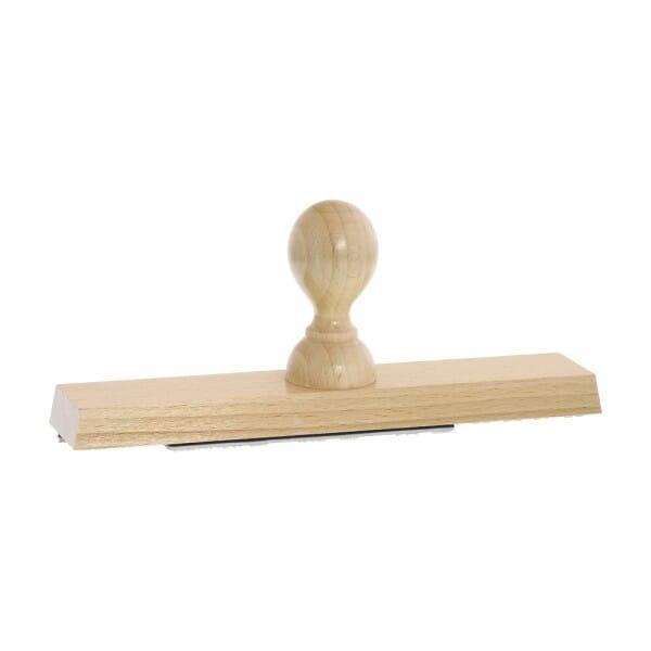 Holzstempel (200x40 mm - 8 Zeilen)