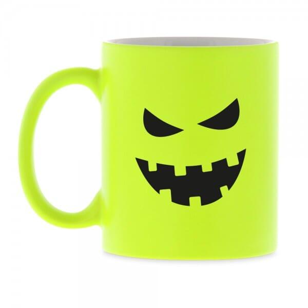"""Neon Keramiktasse """"Halloween"""""""
