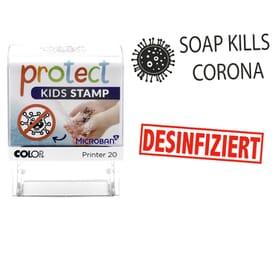 Stempel zu Corona-Themen