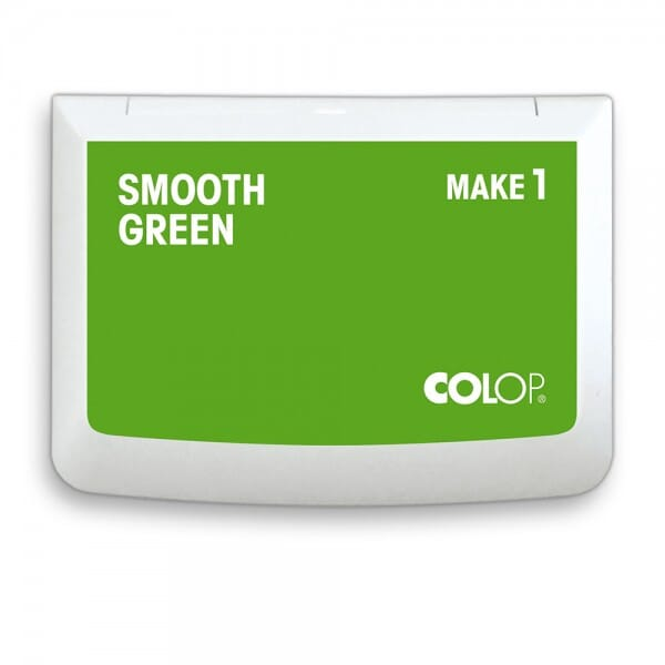 "COLOP Stempelkissen MAKE 1 ""smooth green"" (90x50 mm)"