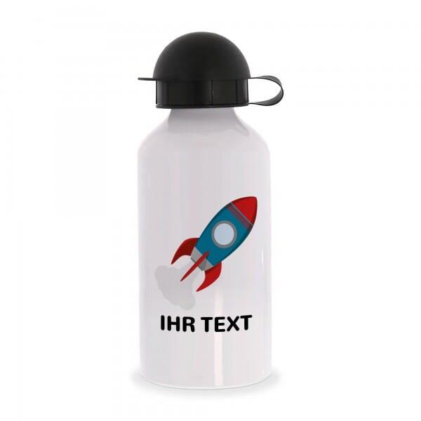 """Aluminium Trinkflasche """"Rakete"""""""