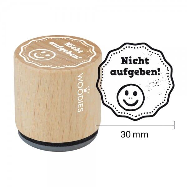 Woodies Stempel - Nicht aufgeben! W13004
