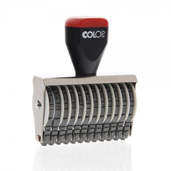 Colop Ziffernstempel 05012 (57x5 mm - 12-stellig)