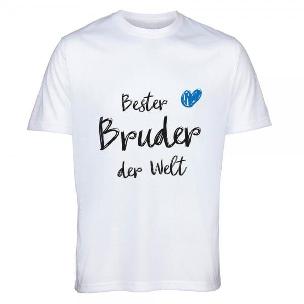 "T-Shirt ""Bester Bruder der Welt"""