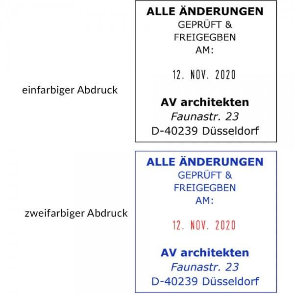 Trodat Printy 4724 Dater (40x40 mm - 8 Zeilen)