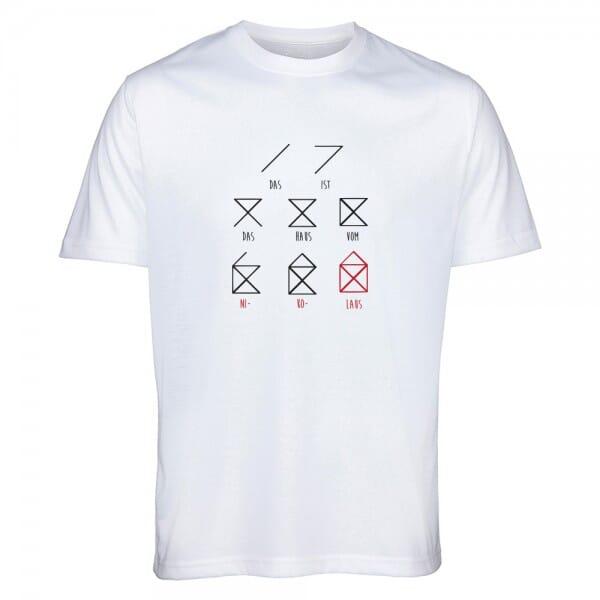 """T- Shirt Standard Weihnachten """"Haus vom Nikolaus"""""""