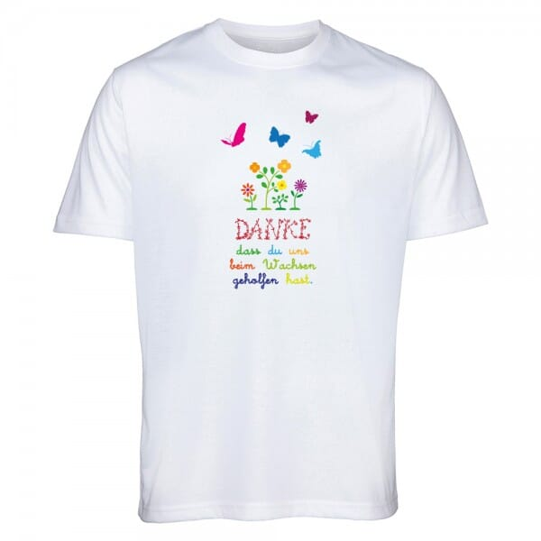 """T- Shirt für Erzieher/in """"Danke"""""""
