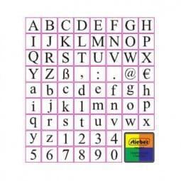 Alphabet-Set mit Groß- und Kleinschreibung