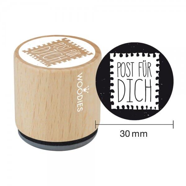 Woodies Stempel - Post für Dich bei Stempel-Fabrik