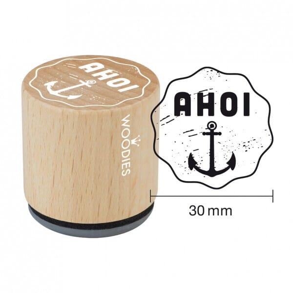 Woodies Stempel - AHOI
