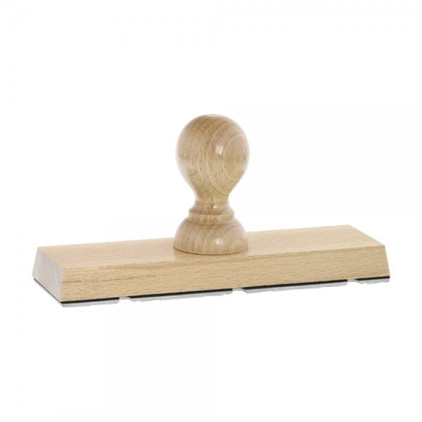 Holzstempel (170x50 mm - 10 Zeilen)