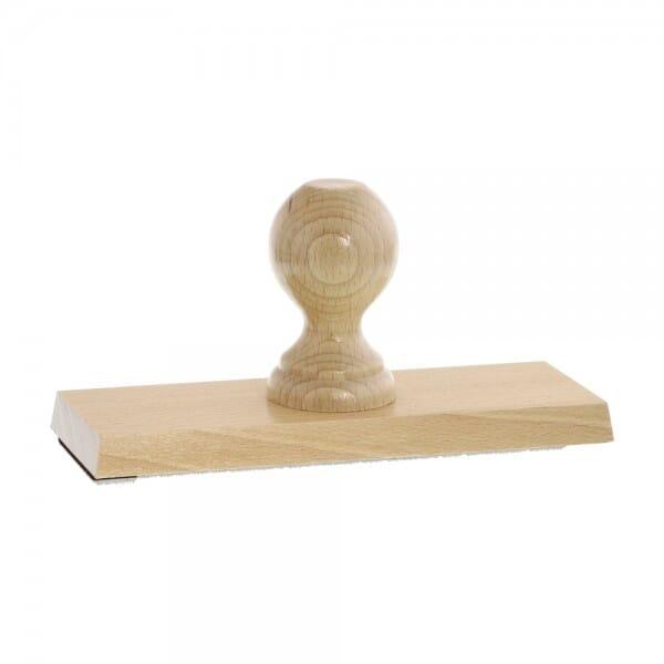 Holzstempel (200x70 mm - 14 Zeilen)