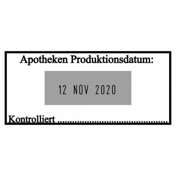 Trodat Classic Datumstempel 2910/P03 (54x24 mm - 2 Zeilen)