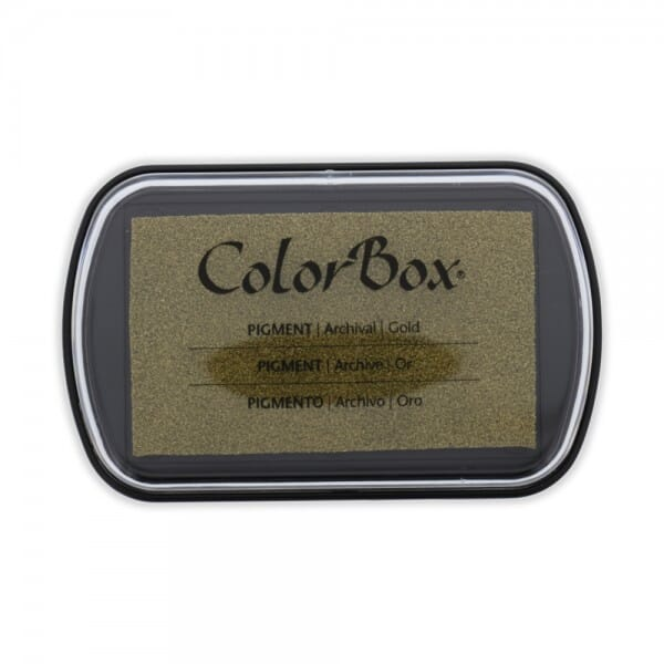 Clearsnap Colorbox - Gold metallic Stempelkissen (10 x 6,3 cm)
