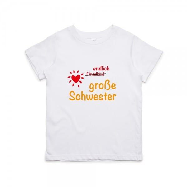 """Kinder T- Shirt """"Große Schwester"""""""