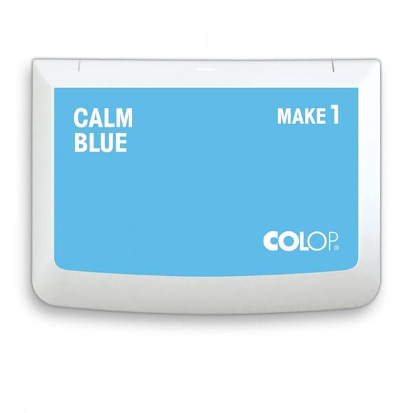 "COLOP Stempelkissen MAKE 1 ""calm blue"" (90x50 mm)"