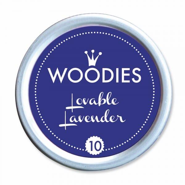 Woodies Stempelkissen - Lovable Lavender bei Stempel-Fabrik