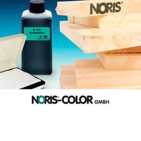 Noris Stempelfarben für Holz
