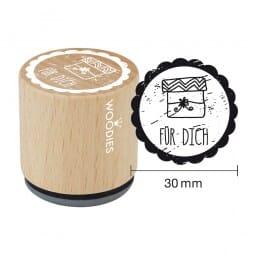 Woodies Stempel - Für Dich Motiv 2