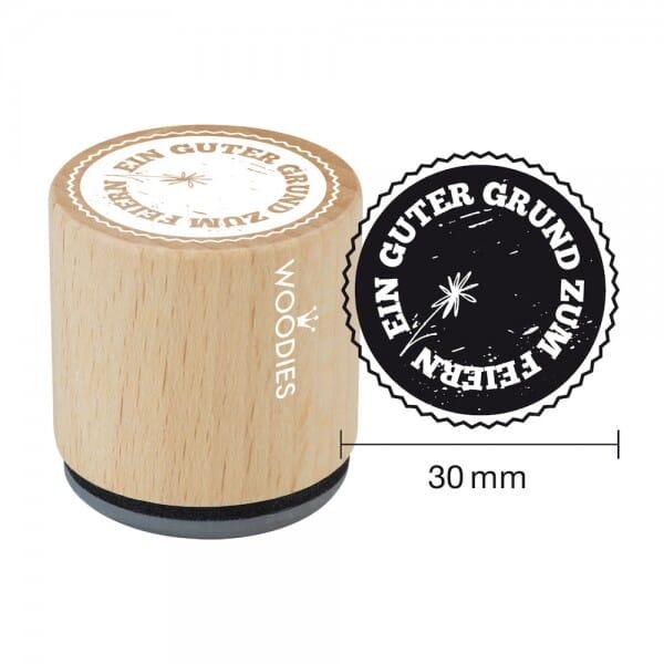 Woodies Stempel - Guter Grund zum Feiern W02004