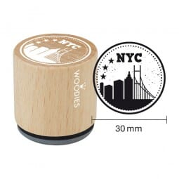 Woodies Stempel - NYC skyline