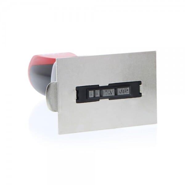 Colop Platten-Datumstempel P 700/24 (65x45 mm - 8 Zeilen)