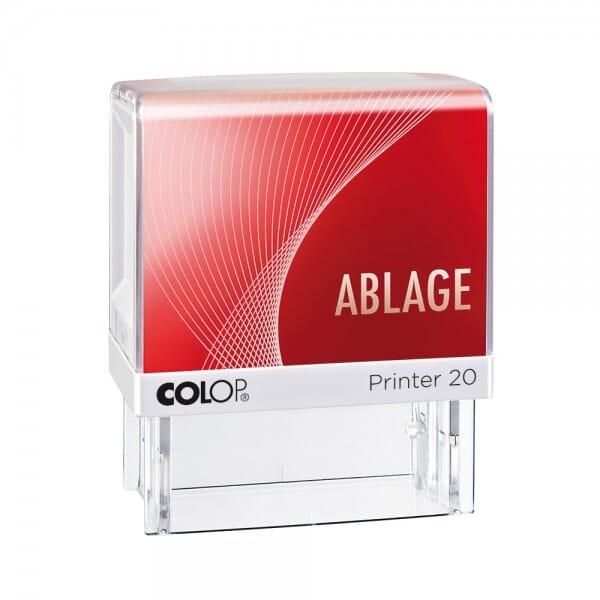 Colop Printer 20 LGT ABLAGE (38x14 mm)