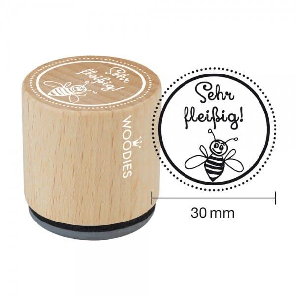 Woodies Stempel - Sehr fleissig! W13001