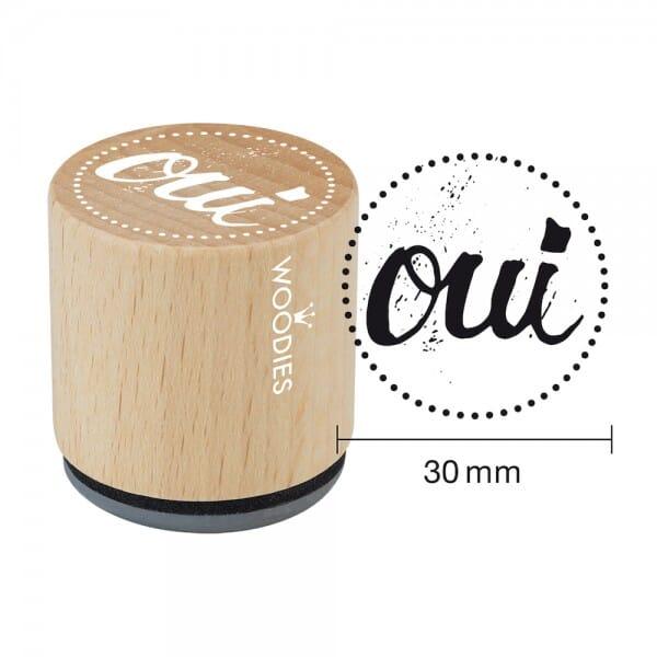 Woodies Stempel - Oui bei Stempel-Fabrik