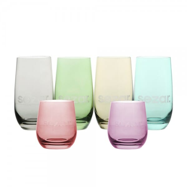 Lasergraviertes Glas in zwei Größen - Leonardo®