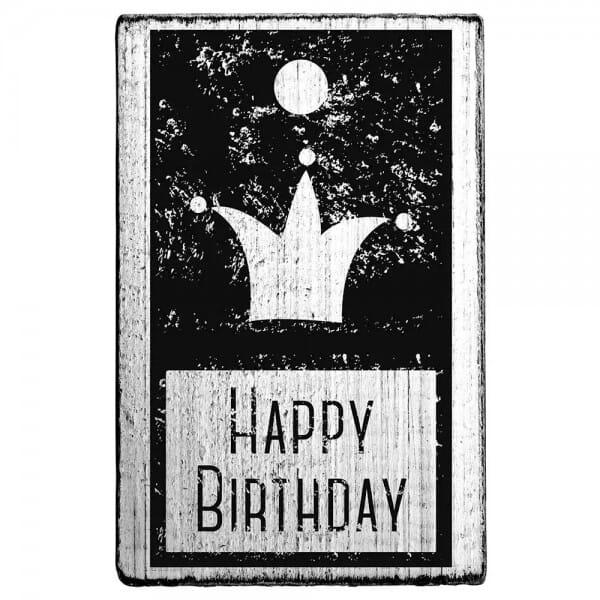 "Vintage Stempel ""Happy Birthday"""
