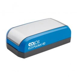 SALE - Colop EOS Pocket Stamp 40 (59x23 mm - 6 Zeilen)