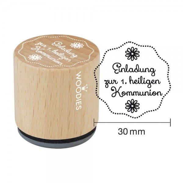 Woodies Stempel - Einladung zur 1. heiligen Kommunion W14001