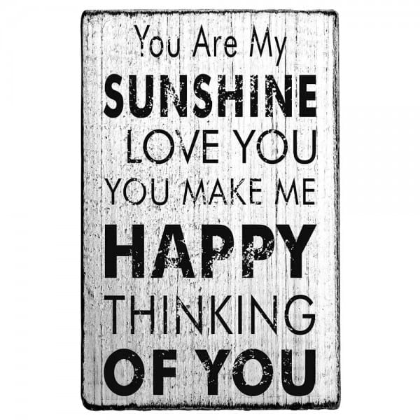 """Vintage Stempel """"You are my sunshine"""""""