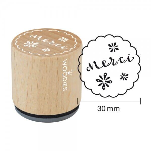 Woodies Stempel - Merci Motiv 1