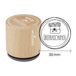 Woodies Stempel - Überaschung