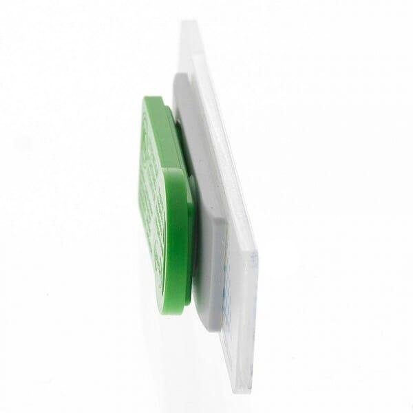 Acryl Namensschild mit Magnetbefestigung (80x20 mm - 3 Zeilen)