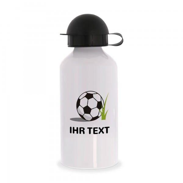 "Aluminium Trinkflasche ""Fußball"""